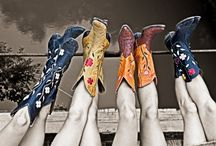 Cowboy Boots / Boots, boots, more boots. / by Audra Dennis
