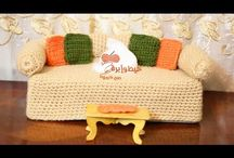 Crochet cover tissue