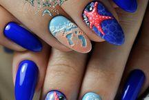 sea ombre nails
