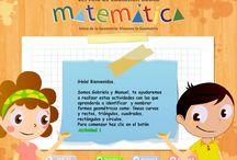 Matemática / Sitios web con actividades para matemáticas entre 1° y 8° Básico