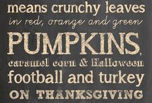 Fall, Halloween & Thanksgiving Decor