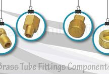 Brass Tube Fittings Components