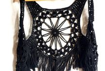 CROCHET TOPS & VESTS