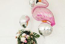 Adult birthday party balloons / Идеи для декора праздника или вечеринки | юбилей | взрослая вечеринка | декор на день рождения | оформление большими воздушными шарами | adult birthday party balloons ideas decoration