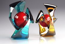 Skandinavian art glass