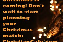 Christmas / Christmas twitter call for ChristianCafe.com