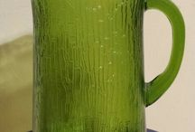 My Green Glass Collection