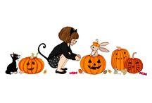 Хеллоуин Белль и Бу