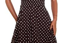 горошковые платья