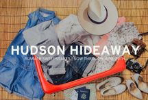 HUDSON Hideaway / Take a #HudsonHideaway! Repost this pic on Instagram or Twitter for a chance to win a $500 Denim Wardrobe! Be sure to tag @HUDSONJEANS #HudsonHideaway. For official rules visit http://inside.hudsonjeans.com/hudsonhideaway/ / by HUDSON Jeans