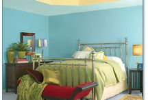 Our bedroom / by Stephanie Massey