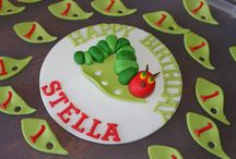 Inspiration Very Hungry Caterpillar  / by Tracy Clay Miller