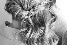 Koszorúslány haj