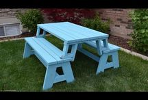 mesa reclináveis.