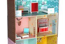 Casas de boneca e miniaturas