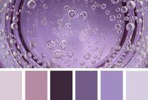 Farbe:  Lila / Farben, die zusammen passen: Wohnungseinrichtung, Kleidung etc.
