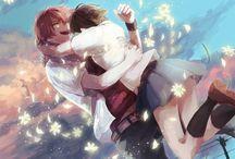 Chiaki a Makoto xDD