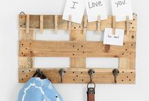 home decoration with pallets