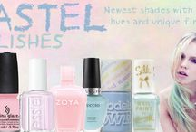 Summer Pastel Shades / Vibrant shades, with richer hues and unique finishes
