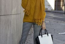 mustard outfit