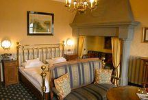 Hotelzimmer / These are the 24 hotel rooms of Schoenburg Castle Dies sind die 24 Hotelzimmer von Burghotel auf Schönburg