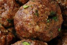 húsgolyók - meat balls