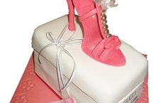 Shoe Cakes for Special occassions / From Jimmy Choo to Louboutin -  birthdays cakes with Shoes to die for.