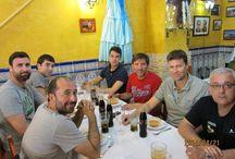 Tertulias en el restaurante La Ruta Andalusa (Alicante) / Todos los lunes analizamos el deporte desde La Ruta Andalusa