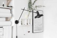 Interior / minimalist interior design