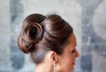 look book- classic updo / hair / by Mallory Passione