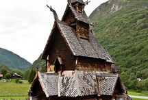 Norsk arkitektur / Traditional norwegian architecture