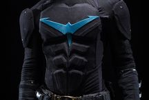 Nightwing Concept Ideas / Collecting ideas and resources to inspire and create my next cosplay for Cardiff Comic Con 2015