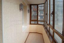 балкон отделка