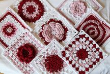 Crochet - squares, circles, triangles / crochet forms to create beautiful products