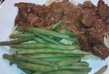 Vlees gerechten / Rundvlees in de slowcooker of oven.