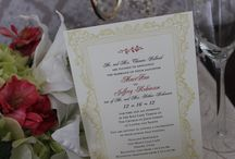Vintage Wedding Invitations / A hint of days gone by.  Antique lace.  Romantic feel.  Your theme is vintage.