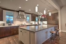Let's Get Cookin' / Kitchens are made for bringing families together. Modern, transitional or craftsman, we love them all.