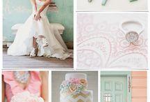 Wedding cake colour inspiration