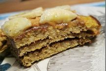 Protein Pancakes / by Cherie Kuhn-Williams