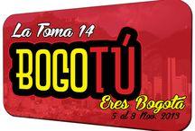 LA TOMA 14 - BOGOTÚ ERES BOGOTÁ / La Toma 14 - Fueron planteadas estas 2 preguntas ¿Cómo la publicidad promueve ideas creativas y campañas que propongan soluciones a los hábitos y  comportamientos que generan problemas de convivencia sociales en la ciudad? ¿Cómo puede aportar la  publicidad estrategias de alto impacto que promuevan la cultura ciudadana con perspectiva de género?  ¿Cómo promover la cooperación de los-as ciudadanos para hacer de Bogotá una ciudad creativa, grata e  incluyente? / by Conexión Central
