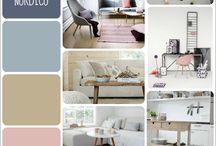 Nordic style / Ambientes nórdicos / Diseño de interiores, estilo nórdico