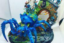 Spiderfang Grots / Warhammer Age of Sigmar Spiderfang Grots - www.the-stronghold.com #spiderfanggrots #ageofsigmar #warhammer #aos #paintingwarhammer