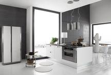 Konyhabútor - Kitchen furniture / Kitchen, kitchen desig, italian kitchen, konyha, olasz konyha, konyhabútor, EffeQuattro, furniture, minimal, modern furniture.