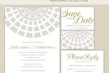 Wedding Paper Goods / Invites, menus, place and escort cards, etc. / by Jenny Qiu