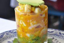 メキシコ料理 シーフードカクテル Seafood Cocktail