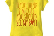 funny Tshirts and baby body