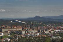 Santiago de Compostela / The destination of Marek Kamiński's peregrination. / Cel wędrówki Marka Kamińskiego.