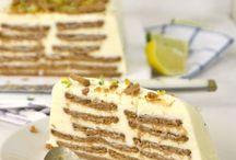 tartas y postres