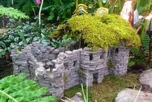 Miniature castles and cottages