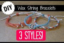 Wax strings diy